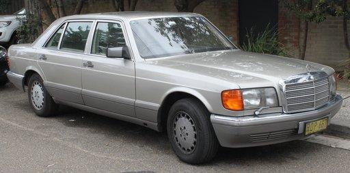 Mercedes 300D, an 1988, gri metalizat, 80 kw