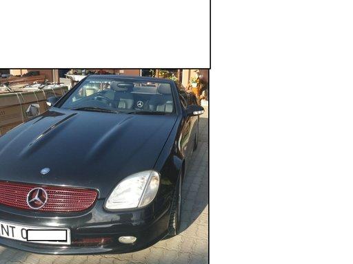 MERCEDES BENZ SLK 2.0 i KOMPRESSOR an 2000 ,cabrio, decapotabil ok,120kw,163cp,164000km ,motor 111.958