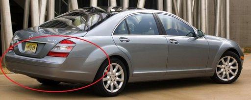 Mercedes S Class W221 Bara spate fara gauri PDC