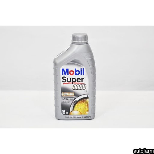 MOBIL SUPER 3000 X1 5W-40- 1L MOBIL 150564 <br>