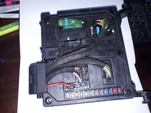 Modul Bsi/Panou sigurante Vw Sharan/ Seat Alhambra/ Ford Galaxy cu codul 7M3962258AC/
