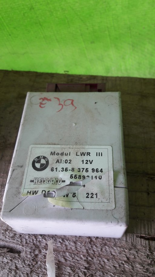 Modul lumini bmw e39 cod 61.35-8 375 964