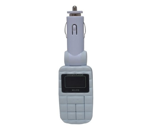 Modulator FM USB Mp3 cu telecomanda 12/24v COD 17 ALB
