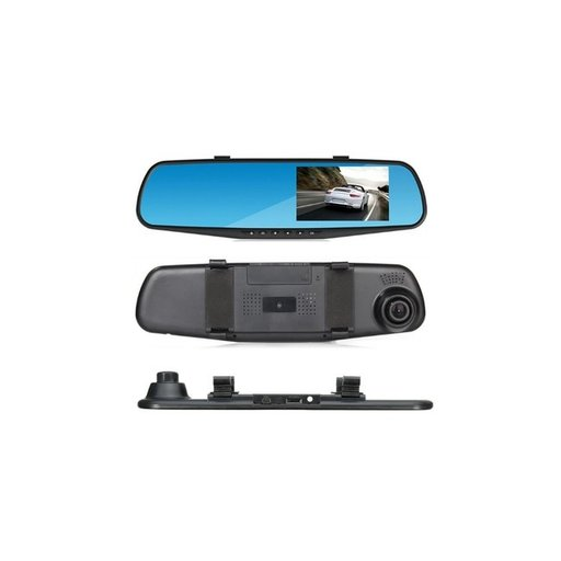 Monitor 4 inch tip oglinda cu camera frontala DVR
