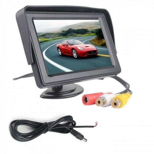 Monitor LCD TFT 4.3 inch pentru camera mers inapoi