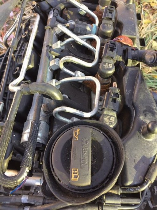 Motor 1.6tdi cay vw skoda seat chiuloasa turbina ambreiaj pompa inalta presiune injectoare 03l130277b
