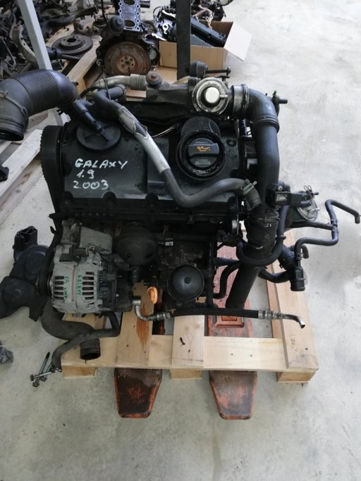 Motor complet fara anexe Ford Galaxy 2003 1.9 diesel cod AUY