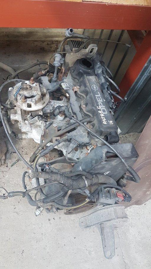 Motor fara anexe Opel Astra G 1.6 benzina 8 valve model 2000 Oradea