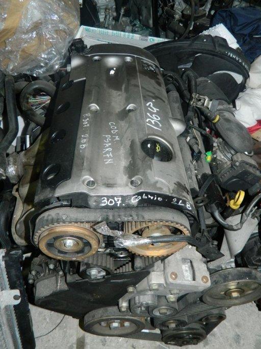 Motor fara anexe Peugeot 307 2.0B 136CP cabrio model 2003