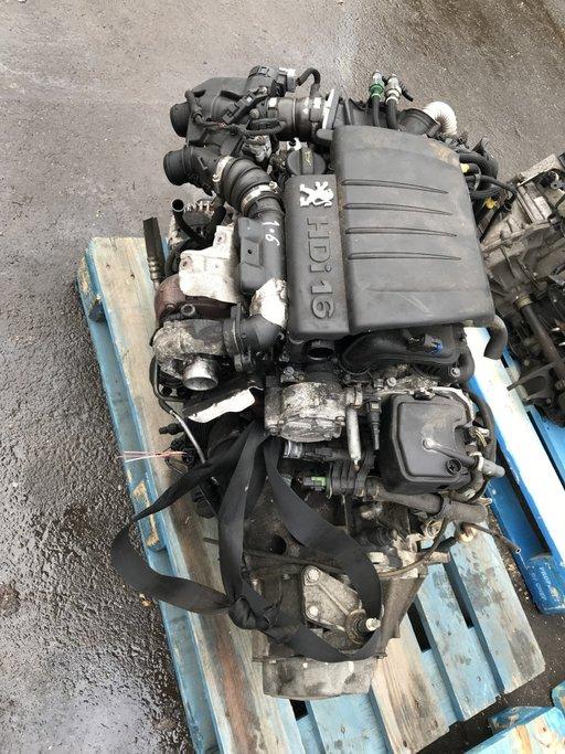 Motor fara anexe Peugeot 407 1.6 hdi