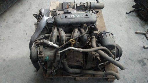 Motor fara anexe Renault Clio 1.2 B cod.D7F720 '2000