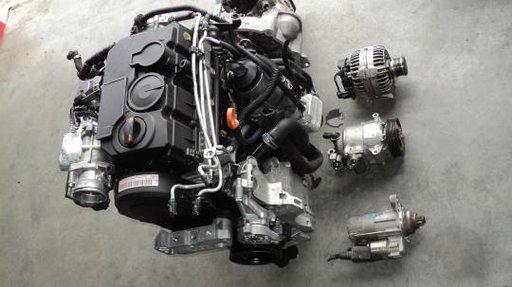 Motor fara subansamble seat toledo 2.0tdi 140cp BMM an 2006