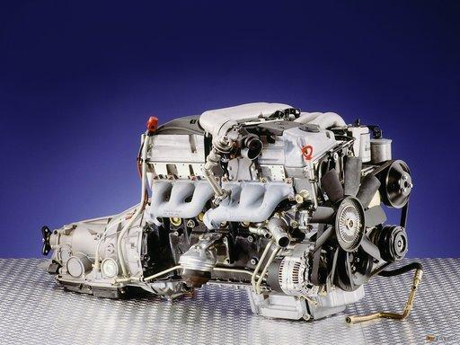 Motor Mercedes Benz E300 Turbo Diesel OM606