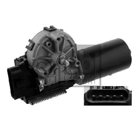 Motor stergator VW SHARAN (7M8, 7M9, 7M6) 2.8 VR6 Syncro 11/1996 - 04/2000 - producator FEBI BILSTEIN cod produs 36991