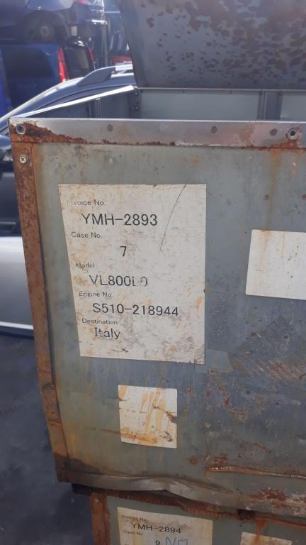 Motor suzuki intruder vl 800 l0 c800 vl800l0