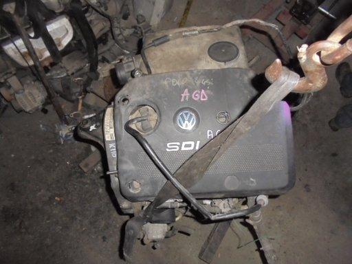 Motor VW Polo 1,9 SDI -2000 cod :AGD