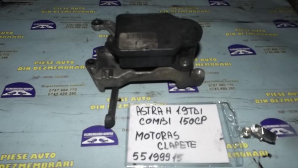 MOTORAS CLAPETE GALERIE ADMISIE 55199915 Opel Astra H combi , 2005, 1.9diesel Z19DTH 150cp cod culoare Z20N