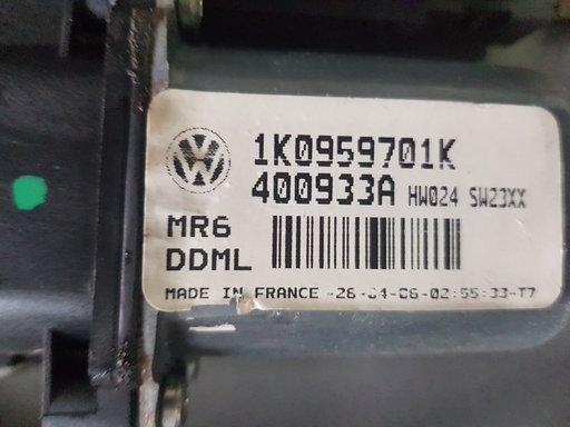 Motoras macara geam cu modul VW Golf 5 1K0959793G