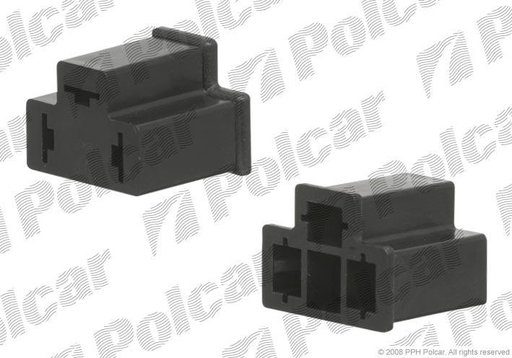 Mufa bec H4 din plastic model universal BestAutoVest partea Dreapta/ Stanga 12V