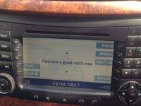 Navigație Mercedes e class w211 2007 MARE ORIGINALA