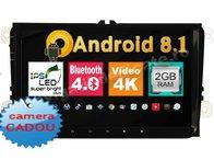 Navigatie Android Volkswagen Vw Passat B6 B7 CC Golf 5 Golf 6 Jetta Eos Tiguan Ecran 9 inc Carkit NAVD-MT9800