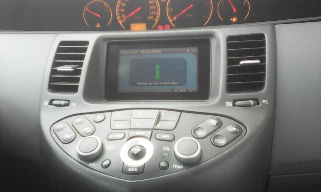 Navigatie auto Nissan Primera, 1.9, an de fabricatie 2005