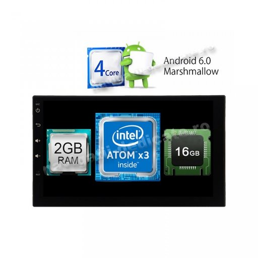 NAVIGATIE CARPAD Mercedes M-Class -> 2005 ANDROID 6.0.1 USB INTERNET Intel 2GB Ram NAVD-i902