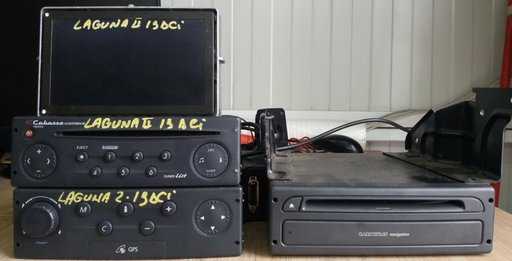 Navigatie cod 22sy203/62 si Radio/CD-Player Cabass