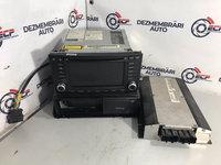 Navigatie cu CD player(6 disc) + Amplificator Volkswagen Touareg V10 5.0 TDI 314 cp AYH 2004