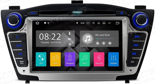 Navigatie Dedicata Hyundai IX35 Android 8.1 16 GB ROM + 2G RAM