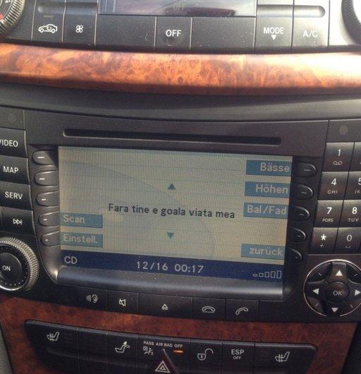 Navigatie Mercedes e class w211 2007 MARE ORIGINALA