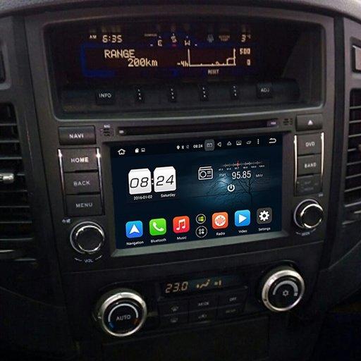 Navigatie Mitsubishi PAJERO V97/V93 (2006-2015) cu Android 9.0