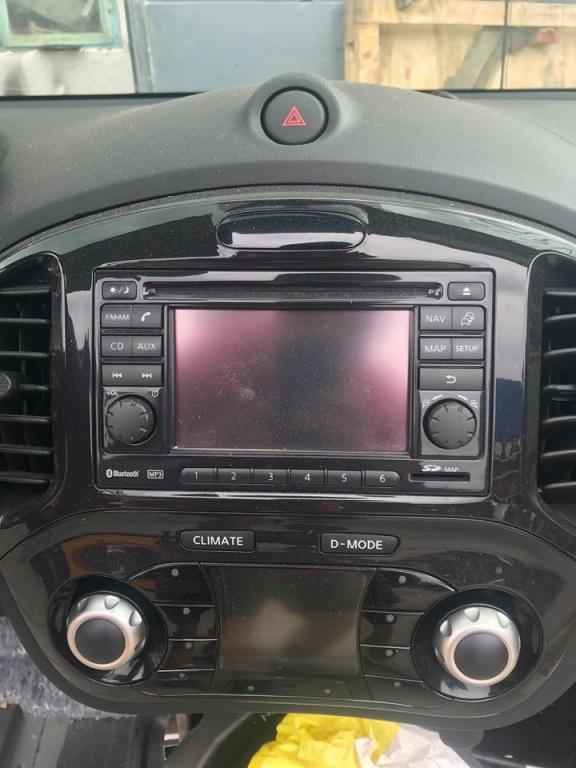 Navigatie Nissan Juke 2010