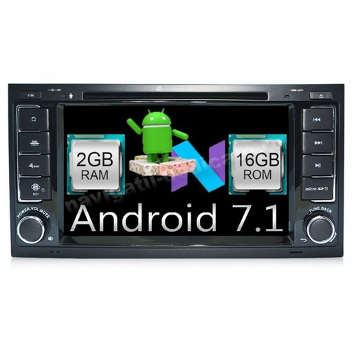NAVIGATIE VW Touareg MULTIVAN Android 7.1 NAVD-A9200
