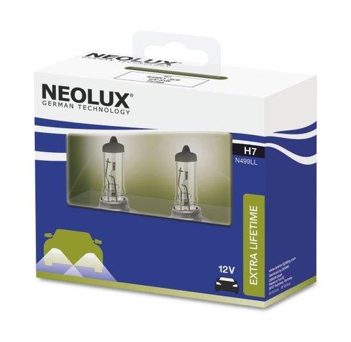 Neolux set 2 becuri h7 12v extra life