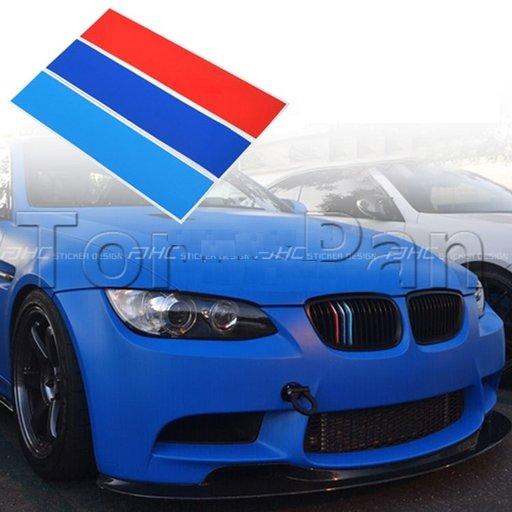NOU ! Stickere grila BMW M Tech Paket E36 E46 E90