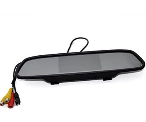 "Oglinda cu ecran LCD de 5"" si camera marsarier"