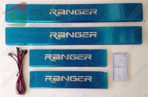 ORNAMENT PRAG CU LED FORD RANGER T6 2012-2017 [4-BUC]