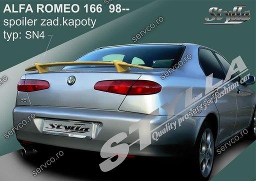Ornament spoiler tuning sport Eleron portbagaj Alfa Romeo 166 1996 – 2007 v1