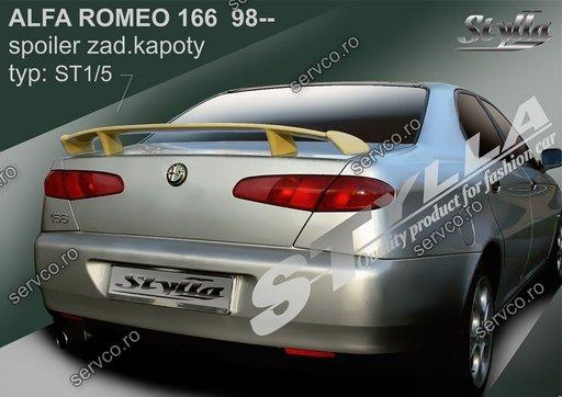 Ornament spoiler tuning sport Eleron portbagaj Alfa Romeo 166 1996 – 2007 v2