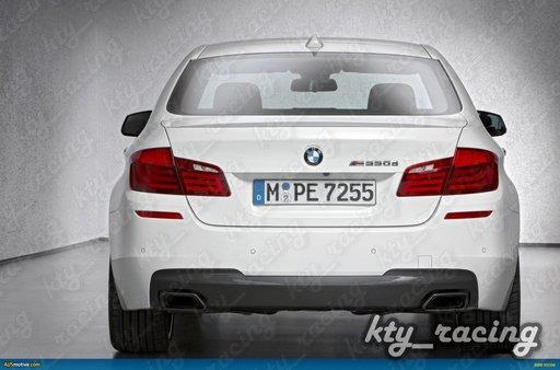ORNAMENT TOBA TIPS EVACUARE CHROM BLACK BMW F10 F11 F12 F13 550 650