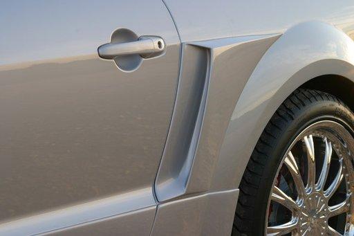 Ornamente aripa fata priza aer spate Ford Mustang v2