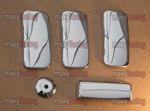 Ornamente din inox pentru manere Ford Tranzit 2000-2006