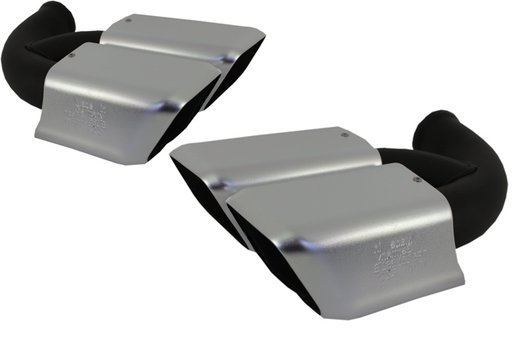 Ornamente Esapament Porsche Cayenne Silver 7P5253682B Set 2 Buc