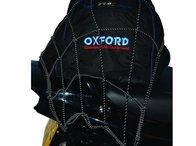 Oxford plasa bagaje moto culoare negru reflectorizant