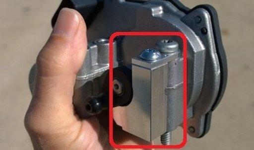 P2015 Limitator galerie/clapeta admisie AUDI VW 2.0 2.7 3.0 4.2 TDI aluminiu/plastic