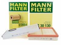 Pachet Revizie Filtre Aer + Polen + Ulei Mann Filter Opel Astra G H 1.2 16V 1.4 1.6 1.8
