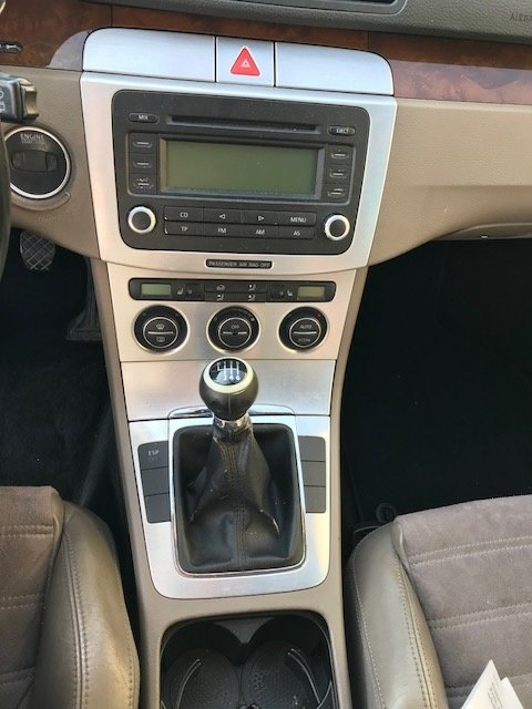 Panou comanda AC clima VW Passat B6 2006 break 2.0