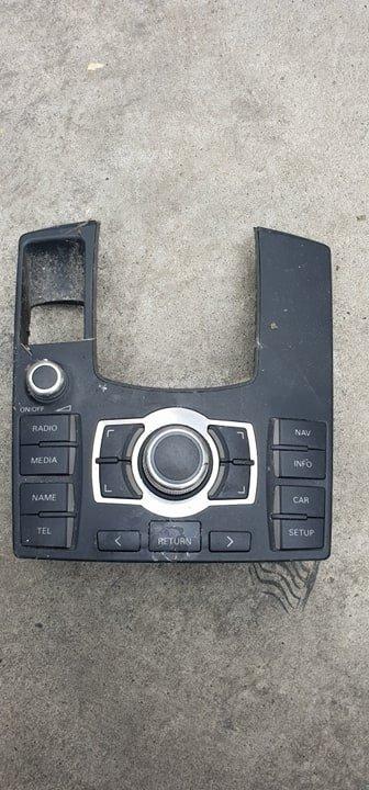 Panou control MMI Audi A8, cod 4E1919612