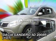 Paravanturi HEKO DACIA SANDERO / STEPWAY I 5 usi 2008-2012 fata